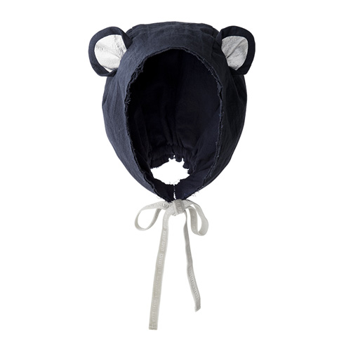 bonnet 4 bear navy - 마르마르