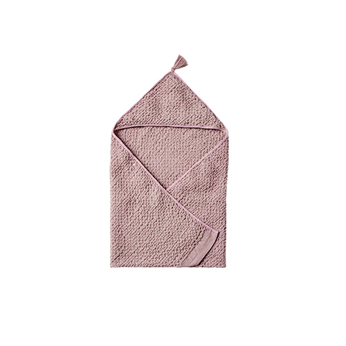 hooded towel 1 lavender - 마르마르