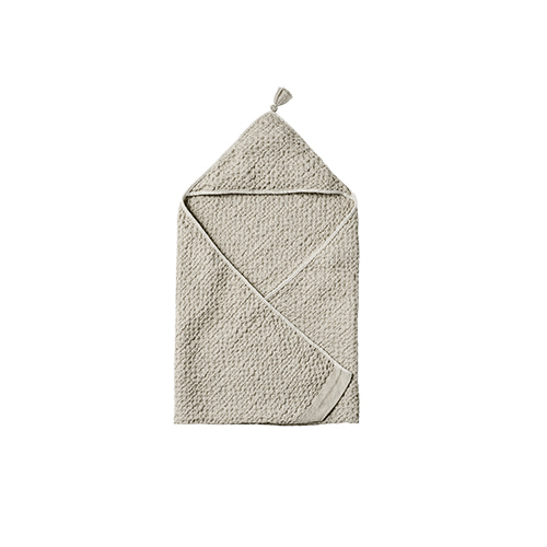 hooded towel 2 frosty grey - 마르마르